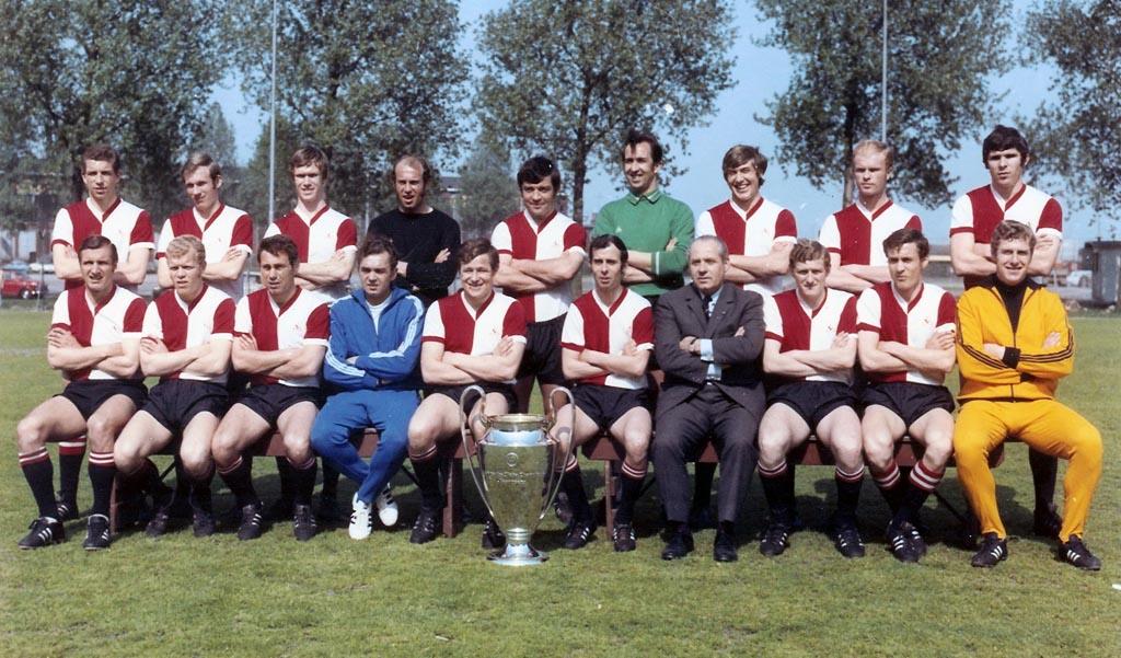 1969 - 1970 Feyenoord selectie