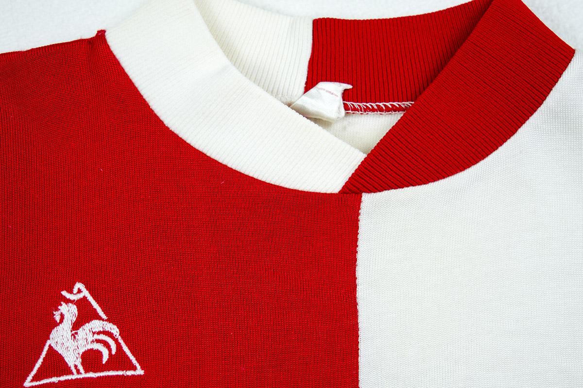 1975 - 1977, Feyenoord LeCoq Sportiff matchworn jersey (Nr. 11) - Jorgen Kristensen
