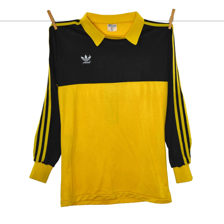 1978 - 1970, Matchworn Adidas Feyenoord Keepersshirt - Eddy Treitel