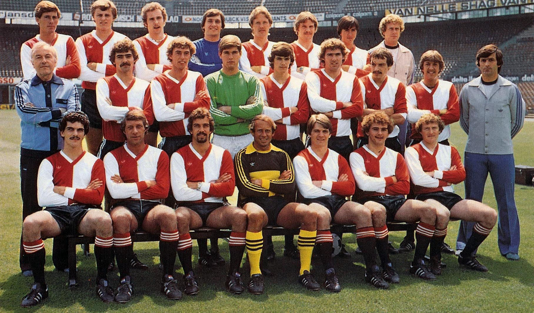 Feyenoord selectie 1978 - 1979