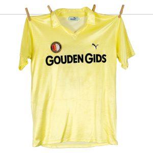 1983 - 1984, Puma Feyenoord Shirt, Uit, Nr. 9 - Peter Houtman