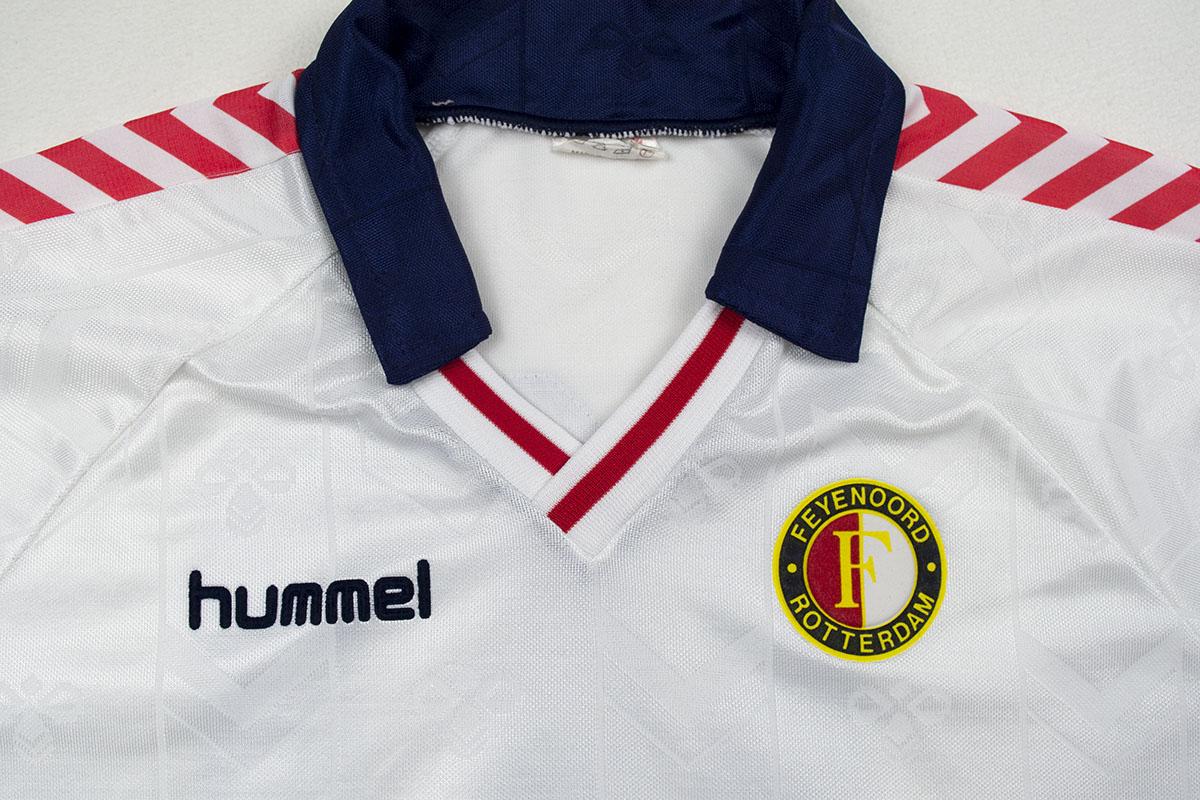 1989 - 1990, HCS Hummel Europacup Uitshirt, Wit