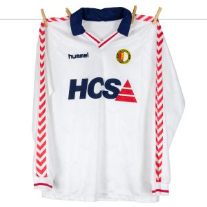 1989 - 1990, Feyenoord HCS uitshirt by Hummel, made in England