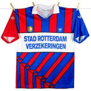 1990 - 1991, uitshirt, stad rotterdam patch
