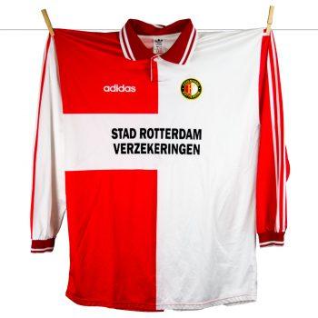 1994 - 1995, Feyenoord matchworn europacup thuis met kleine sponsoring