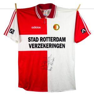 1994 - 1995, Feyenoord matchworn thuisshirt Regi Blinker, nr. 11