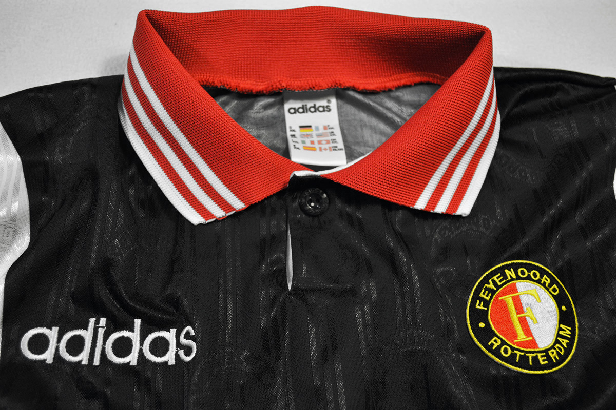 1996 - 1997, Nr 4, Ronald Koeman, Europees Uitshirt - Matchworn European Cup Away