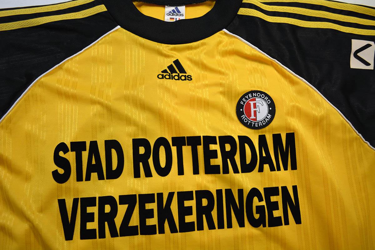 1998 - 1999, Adidas Feyenoord Matchworn Keepersshirt, Nr. 26 Ronald Graafland