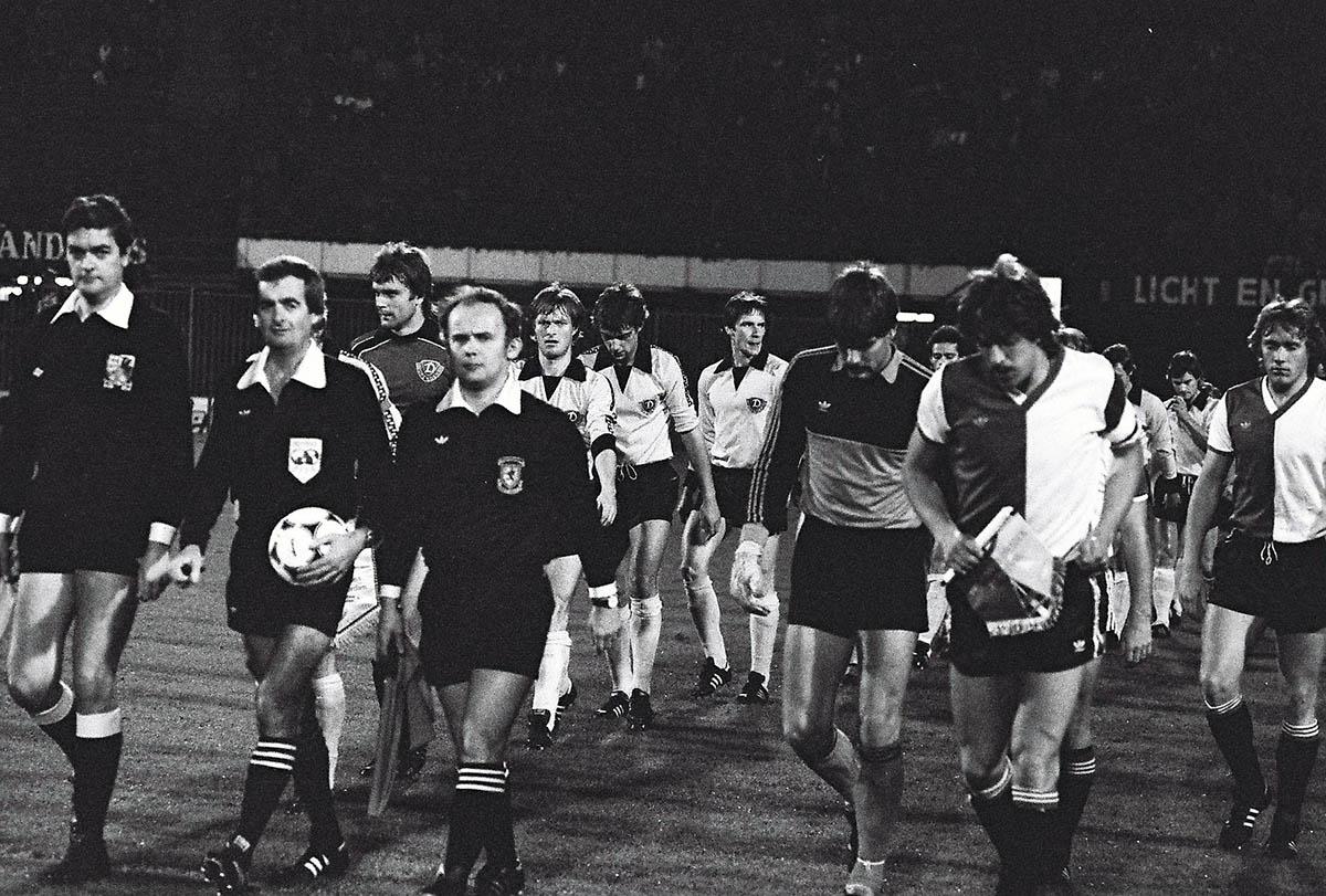 21-10-1981, Feyenoord - Dynamo Dresden (2-1)