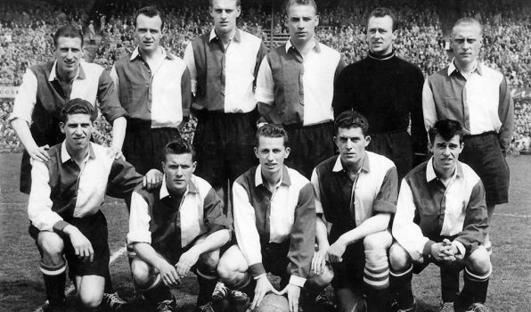 Sportclub Feyenoord Elftalfoto 1955-1956