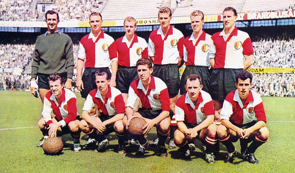 Feyenoord Elftalfoto 1958-1959