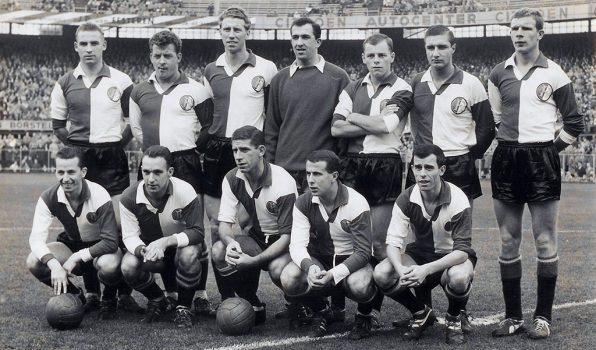 Feyenoord Elftalfoto 1961 - 1962