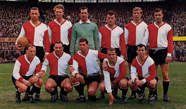 Feyenoord Elftalfoto 1962 - 1963