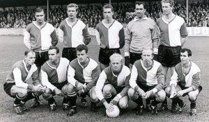 Feyenoord Elftalfoto 1963 - 1964