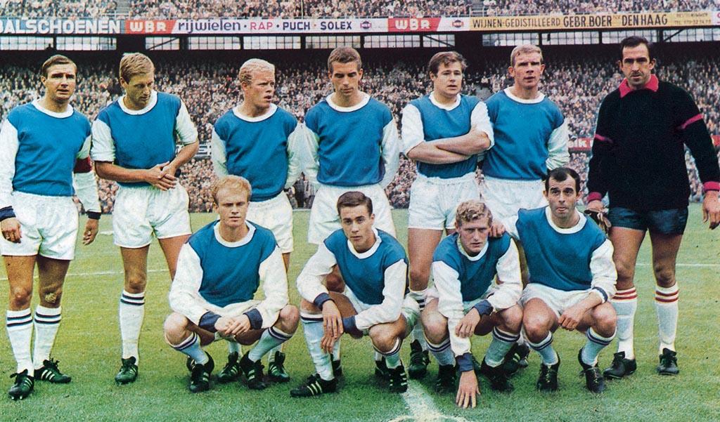 Feyenoord Elftalfoto 1966 - 1967
