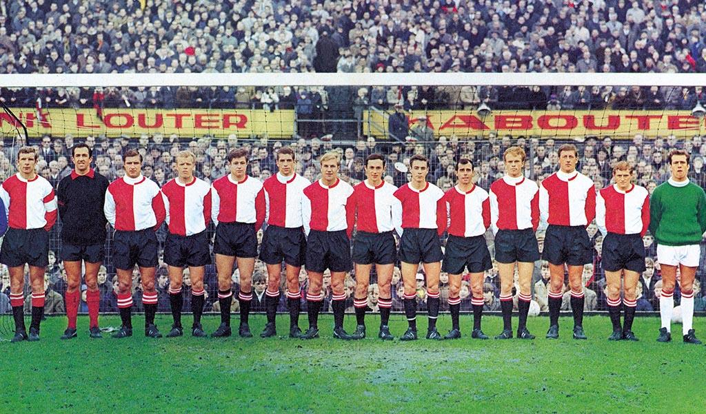 Feyenoord Elftalfoto 1967 - 1968