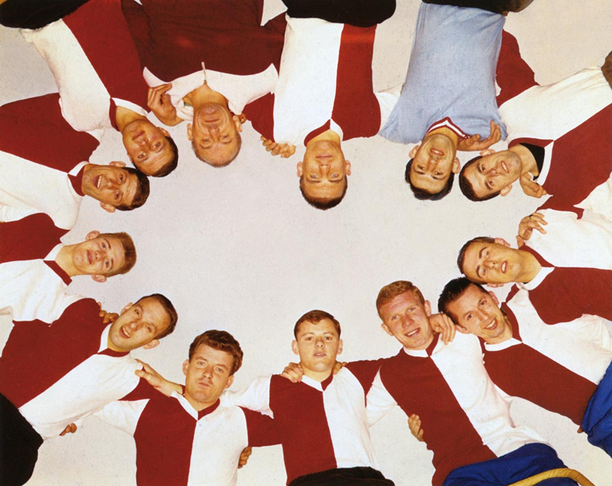 Feyenoord Selectie 1969 in Bukta Shirts