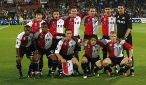 30-09-2004 Elftal Feyenoord Feyenoord-Odd Grenland (4-1) De Kuip
