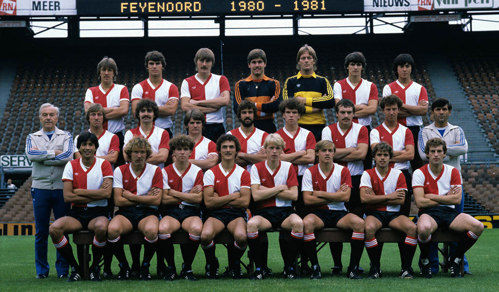 Feyenoord Selectie 1980 - 1981