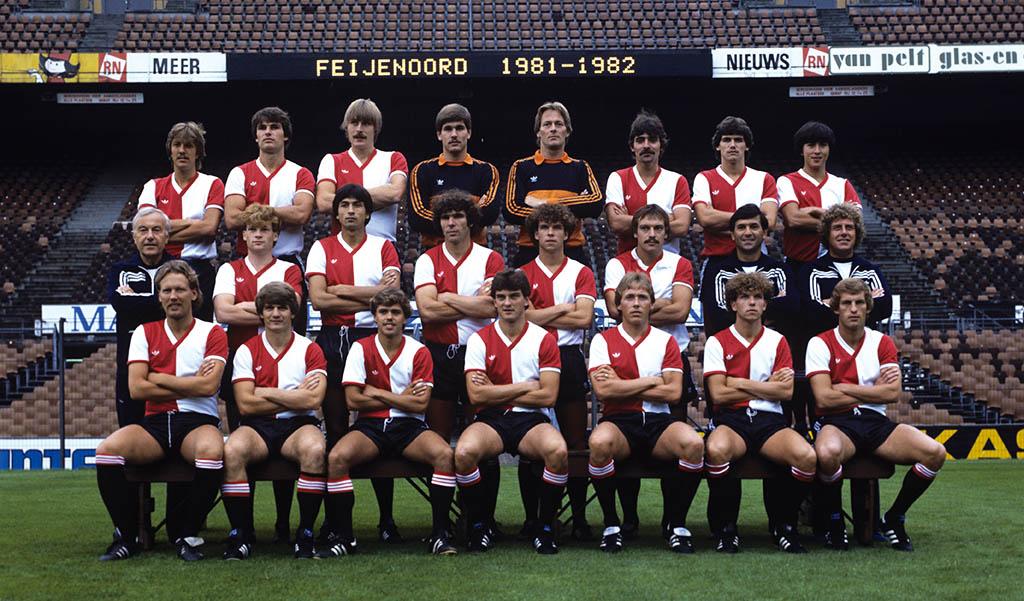 Feyenoord selectie 1981 - 1982