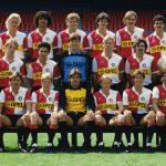 Feyenoord selectiefoto 1984-1985