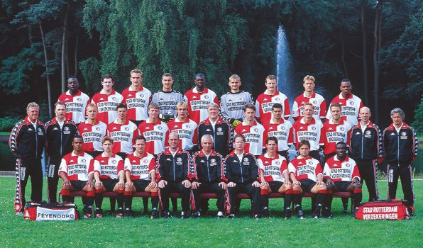 Feyenoord selectie 2000 - 2001