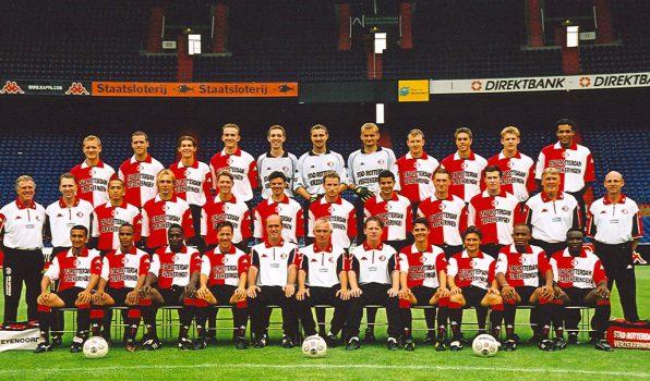 Feyenoord selectiefoto 2001 - 2002