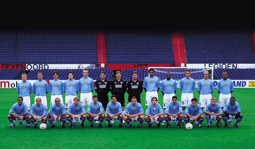 Feyenoord selectie 2001 - 2002