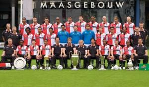 Feyenoord elftalfoto 2008 - 2009, 100 jarig jubileum