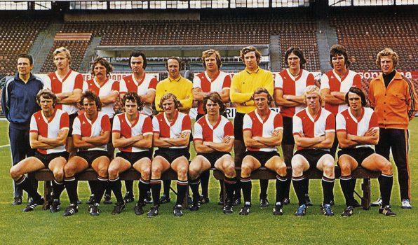 Feyenoord Selectiefoto 1974-1975