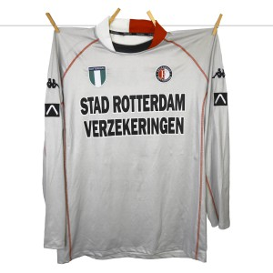 Kappa, Matchworn Feyenoord Keepersshirt 2002 - 2003, Carlo L'Ami