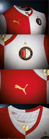 Puma Gouden Feyenoord Shirt